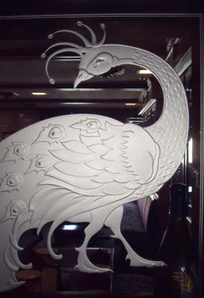 Etched Glass Decor